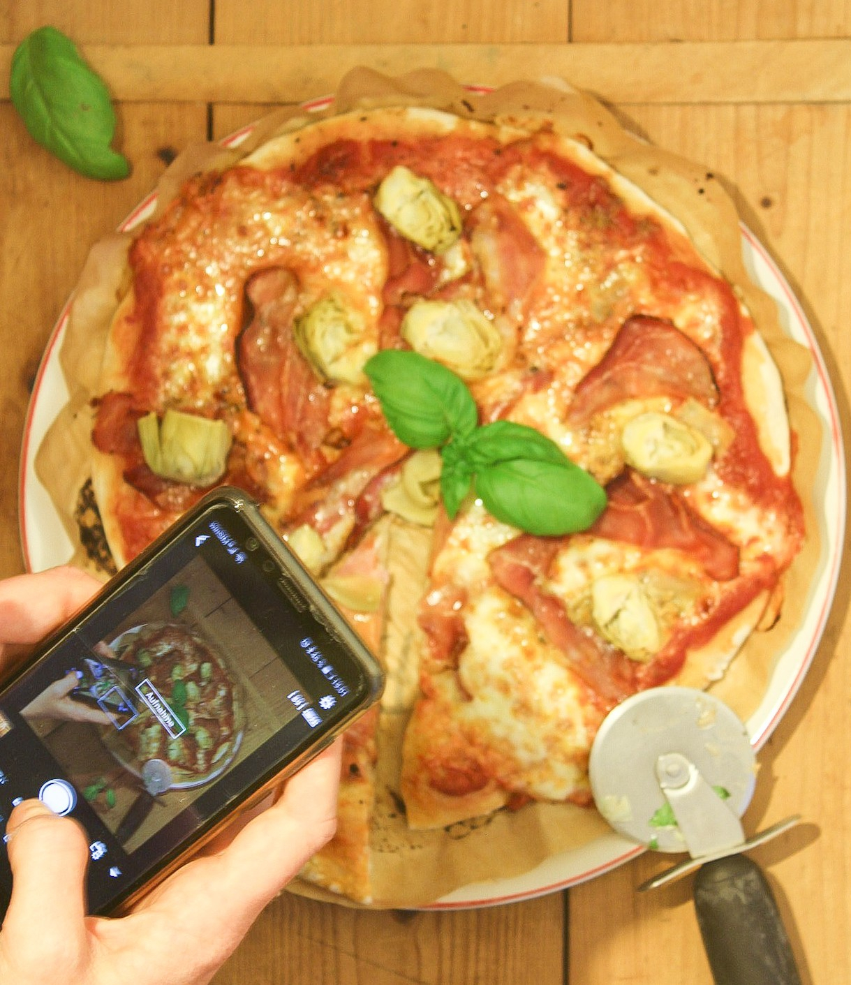 Pizza-mit-Sauerteig