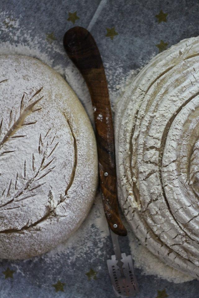 Kartoffel-Brot mit Roggen-Sauerteig