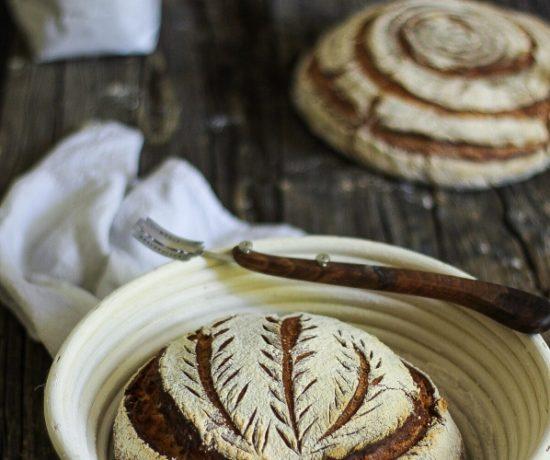 Kartoffel-Brot mit Roggensauerteig